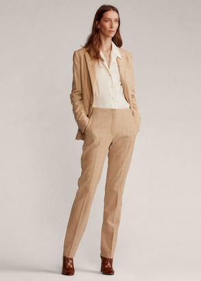 Ralph Lauren Simone Merino Wool Tweed Pant