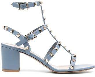 Valentino Rockstud ankle-strap 60mm sandals