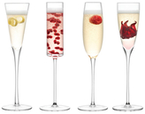 LSA International Lulu Champagne Flutes (Set of 4)