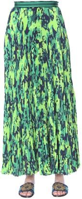 Mr & Mrs Italy Long Pleated Skirt