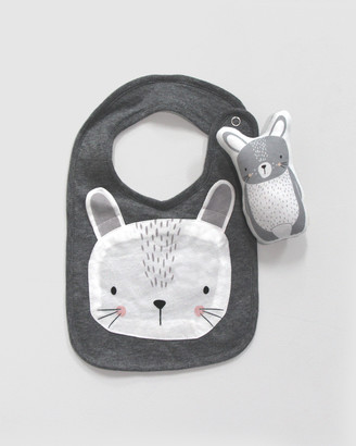 Mister Fly Bunny Bib & Rattle Bundle