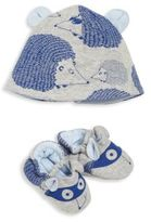 Little Marc Jacobs Baby's Allover Printed Hat & Slippers Set