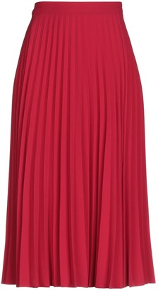 RED Valentino 3/4 length skirts