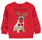 George Light-Up Pug Christmas Sweatshirt