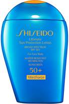 Shiseido Women's Ultimate Sun Protection Lotion SPF 50+ WetForce