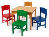 Kid Kraft Nantucket Kids 5 Piece Table & Chair Set