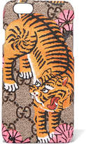 Gucci Printed Coated-canvas Iphone 6 Case - Brown