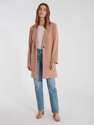 Cupcakes And Cashmere Haarlem Drape Front Coat