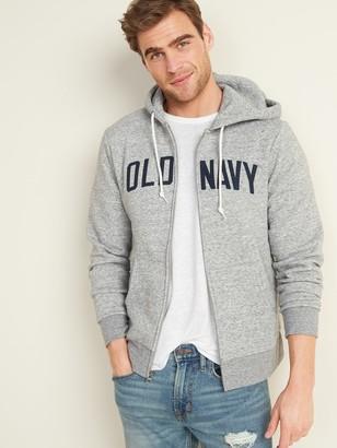 Old Navy Logo-Graphic Zip Hoodie for Men