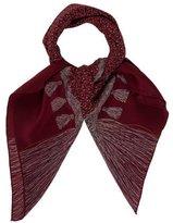 Chanel Tassel Silk Scarf