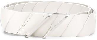 Bottega Veneta Woven Leather Belt