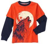 Gymboree Howl Long Sleeve Tee