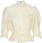 Marc Jacobs Lace Panelled Blouse
