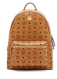 MCM Women's Medium Stark Side Stud Visetos Backpack
