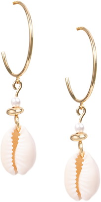 Uncommon James by Kristin Cavallari Seashell Drop Earrings
