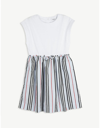 Burberry Ramona Icon stripe cotton dress 3-14 years