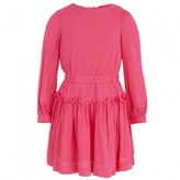 Milly Minis Pink Ruched Dress