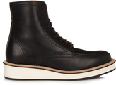 Givenchy Rottweiler leather lace-up ankle boots
