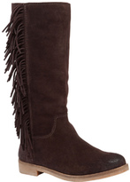 Lucky Brand Women's Grayer Fringe Boot