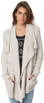 Volcom Locked In The Wrap Womens Knit Waterfall Natural