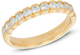 Zales 1/2 CT. T.W. Diamond Vintage-Style Anniversary Band in 14K Gold