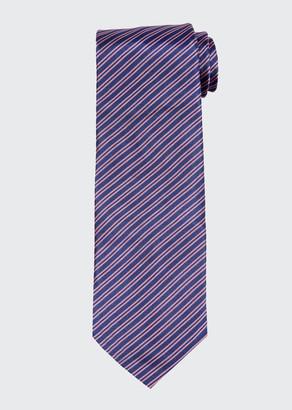Giorgio Armani Men's Silk Jacquard Stripe Tie