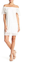 Robbie Bee Crochet Overlay Dress