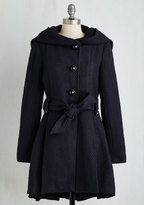Once Upon a Thyme Coat in Midnight Blue in XS