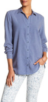 Andrea Jovine Long Sleeve Side Button Shirt