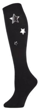 Me Moi Silver Star Women's Knee High Socks