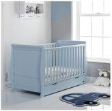 O Baby Obaby Stamford Bonbon Blue Cot Bed