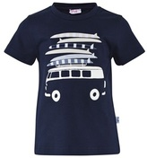 Il Gufo Navy Camper and Surfboard Tee