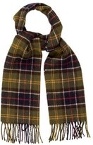 Barbour Plaid Fringe Scarf