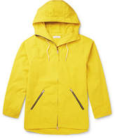Pop Trading Company - Ams Cotton Hooded Jacket - Yellow