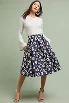 Eliza J Jacquard Leopard Skirt