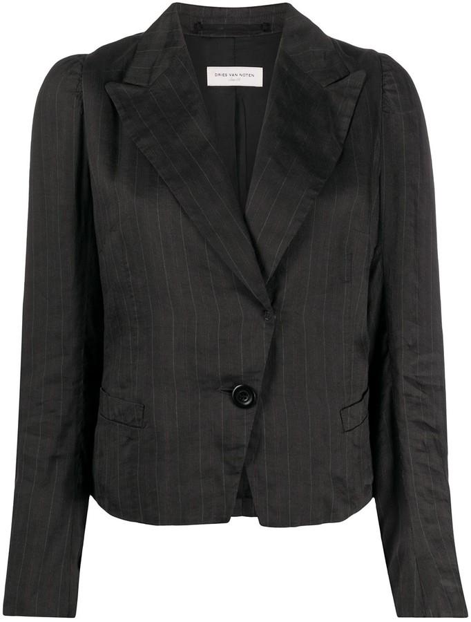 Dries Van Noten Pre-Owned 1990s Pinstripe Jacket