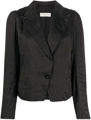 Dries Van Noten Pre-Owned 1990s Pinstripe Jacket