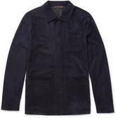 Ermenegildo Zegna - Slim-fit Suede Jacket