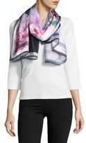Ted Baker Floral Silk Wrap Scarf