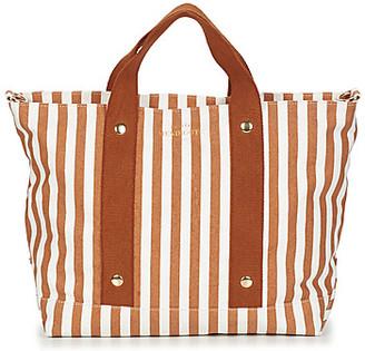 Petite Mendigote ROMANE women's Shopper bag in Brown