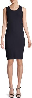 Lafayette 148 New York Sleeveless Sweater Sheath Dress
