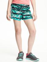 Old Navy Performance Mesh-Side Running Shorts for Girls