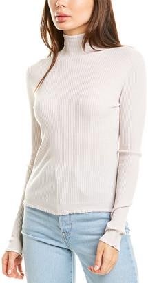 Vince Lettuce Edge Wool Sweater