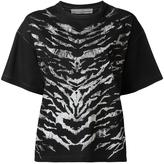 Golden Goose Deluxe Brand zebra print T-shirt - women - Cotton - XS