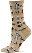 Hot Sox Men's Coffee Crew Socks