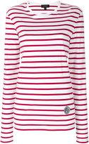Burberry - Breton stripe top