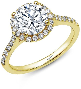 Lafonn 'Lassaire' Round Stone Ring