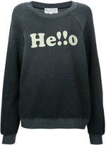 Wildfox Couture Hello sweatshirt
