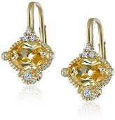 "Judith Ripka La Petite"" Mini Oval Stone Drop Earrings"