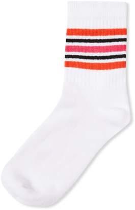 Topshop Striped Tube Socks